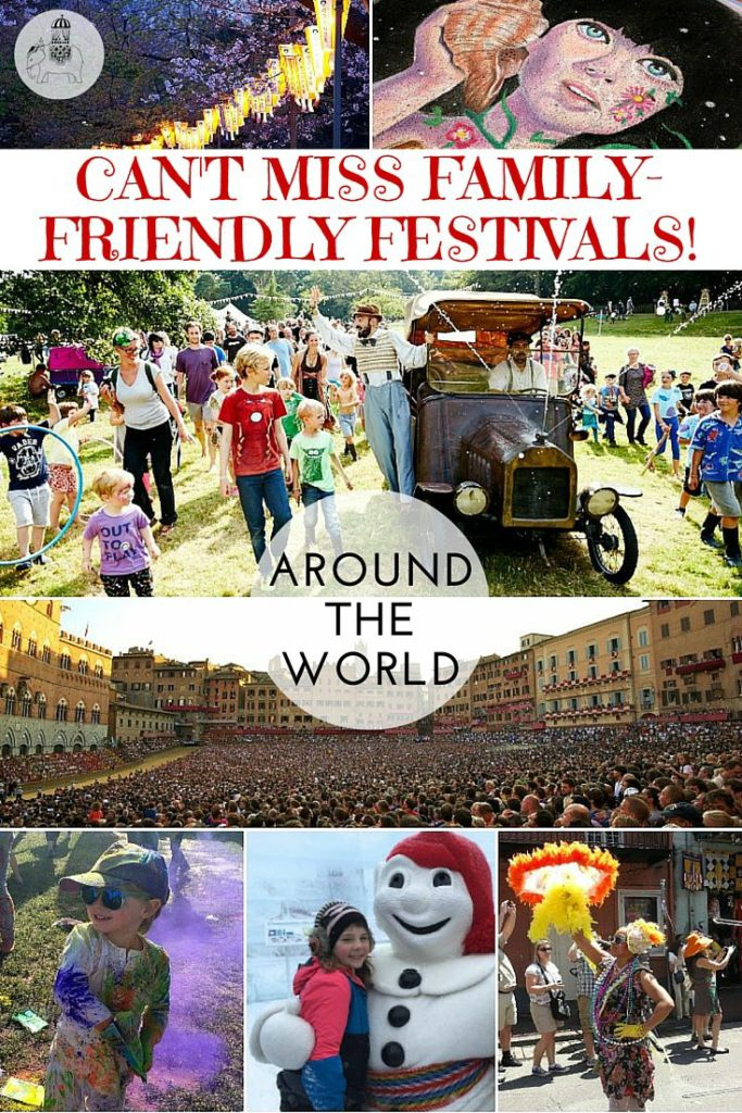 Can't miss Family-Friendly Festivals Around the World