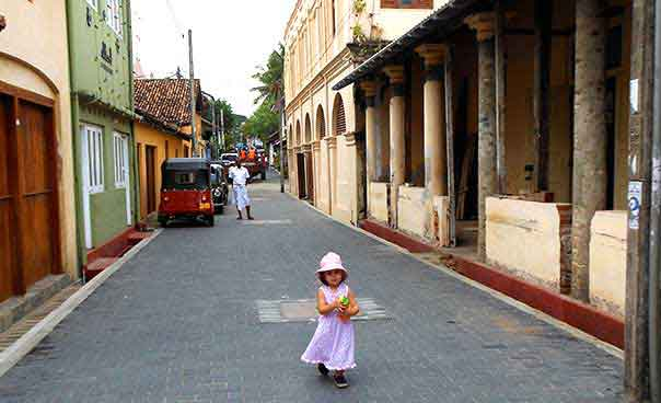Image of Galle, Sri Lanka with Kids