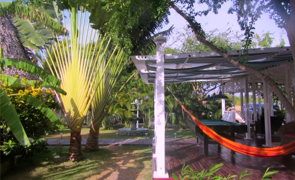 Casa Amarilla garden