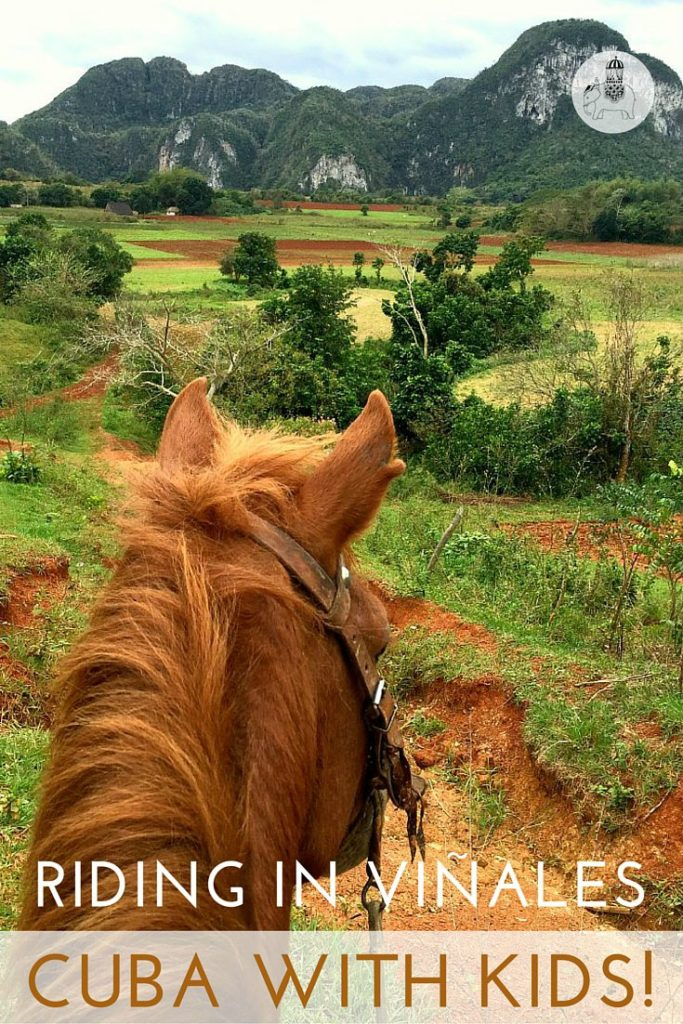 horse riding in Vinales pin