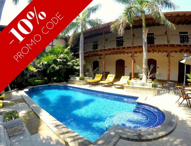 Promo code Hotel Plaza Colon, Granada, Nicaragua