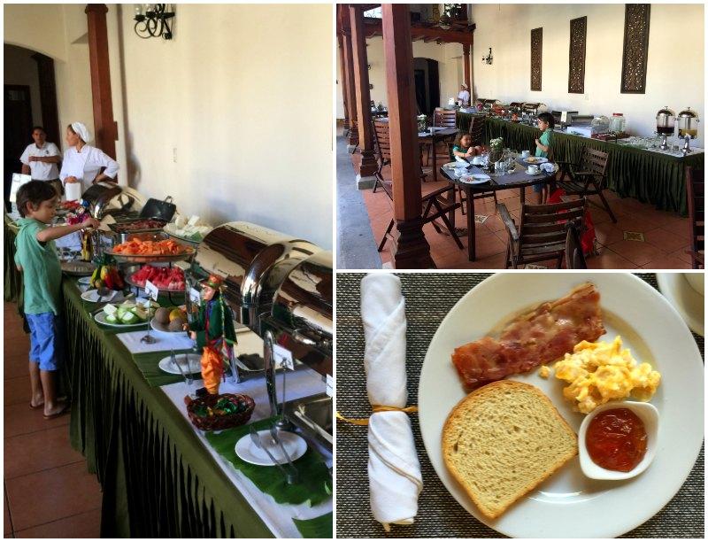 hotel plaza colon breakfast