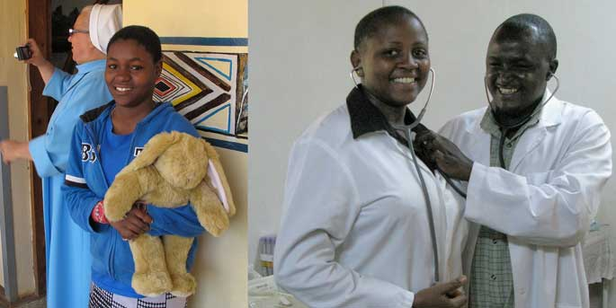 Projects in Kenya supported by Pack for a Purpose.