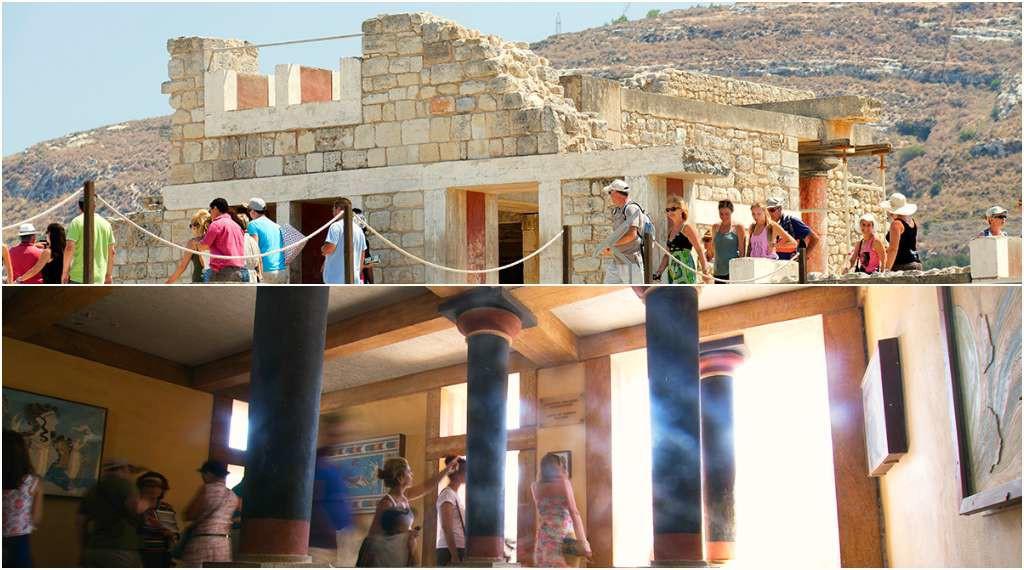 Knossos, Crete, Greece