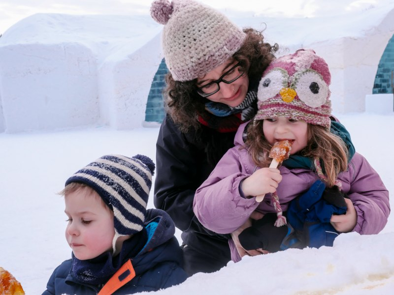 Canada with Kids: Staying at Quebec's Ice Hotel With Kids