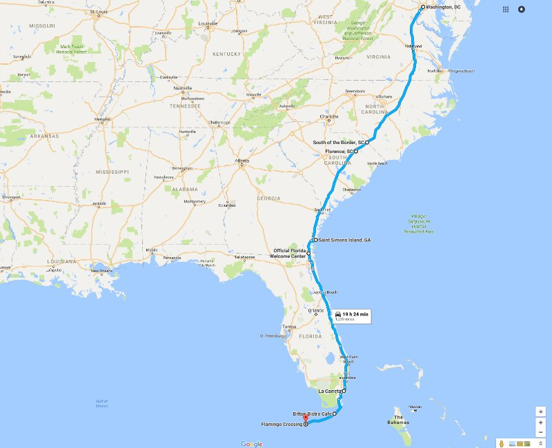Road Trips With Kids Washington Dc To The Florida Keys Globetotting