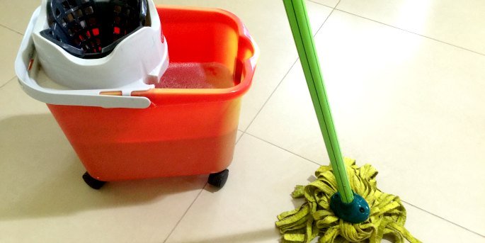 Avoiding dengue: Add a drop of citronella oil or lemon grass to the water you mop your floors with