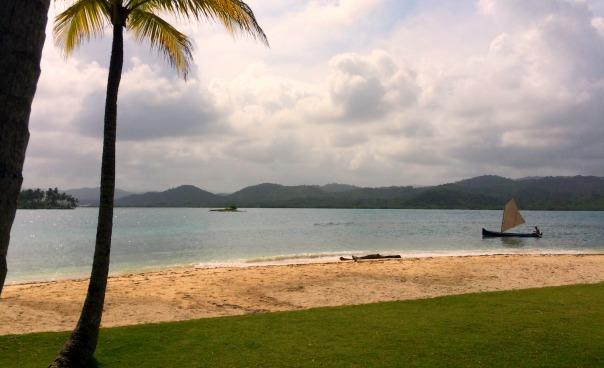 Beach trip to nearby island