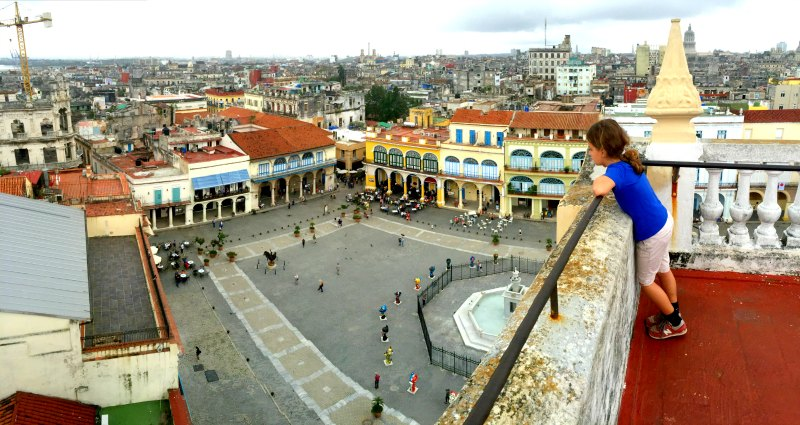 Plaza Vieja, Havana Cuba with Kids: Visiting Havana with Children