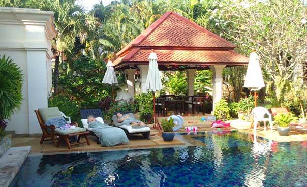 Swimming pool. Sai Taan Villa