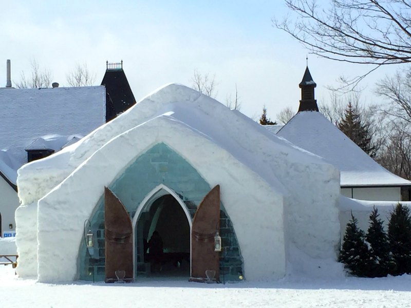 Canada with Kids: Staying at Quebec Ice Hotel