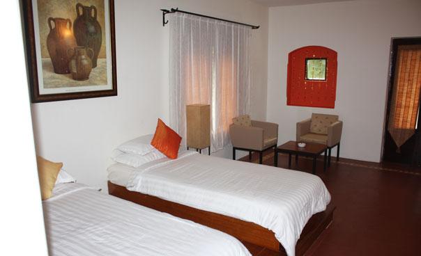 Twin room (ground floor)