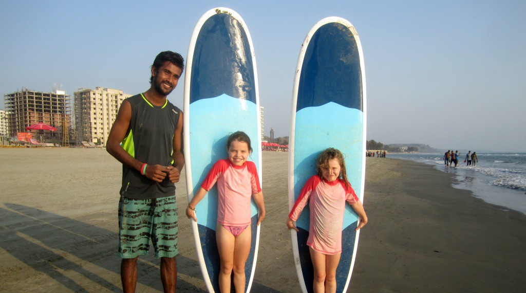Surf Lessons! My Family Adventure: Bangladesh