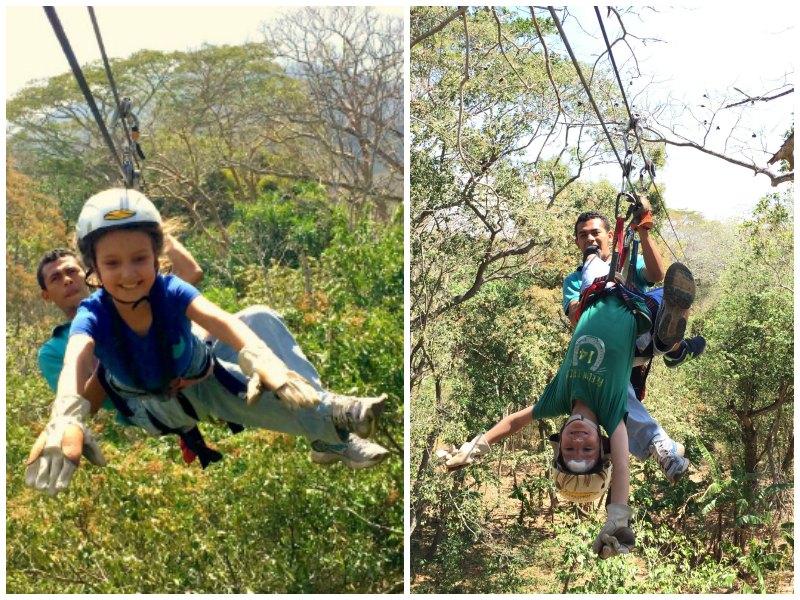 Granada with kids, Nicaragua: Mombacho zip line